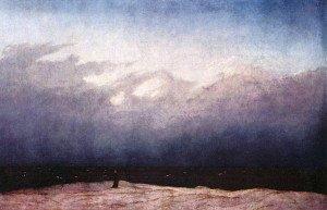 Der Mönch und das Meer - Gemälde von Caspar David Friedrich
