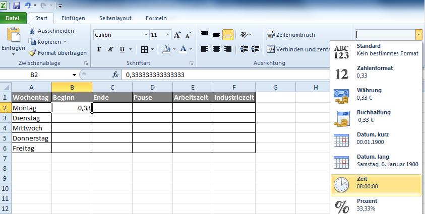 Zeiteinheiten Umrechnen In Excel