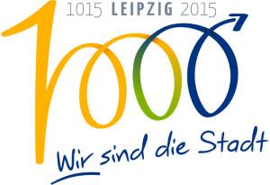 Lgogo von 1000 Jahre Leipzig