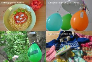 Selbstgemachte Geschenke zum Kindertag