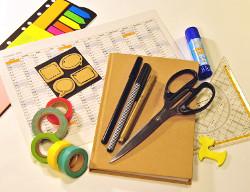 Material DIY-Taschenkalender