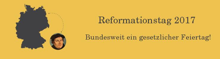 Reformationstag 2017