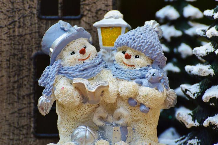 Singende Schneemänner