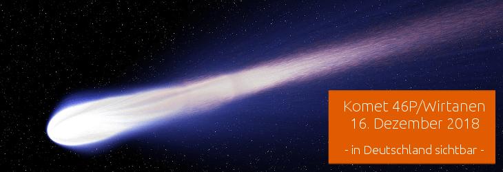 Komet am Nachthimmel