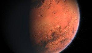 Nahaufnahme Mars