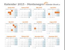 feiertage 2015 montenegro kalender bersicht. Black Bedroom Furniture Sets. Home Design Ideas