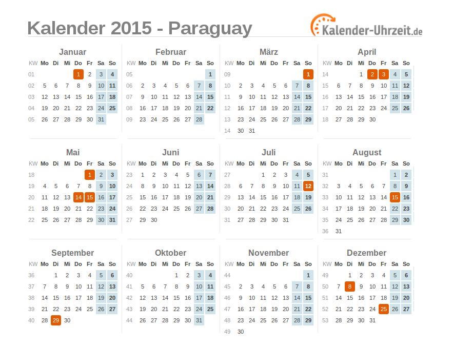 uhrzeit paraguay