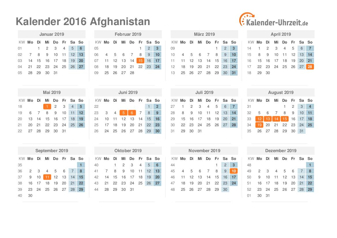 Afghanische Feiertage