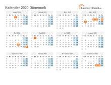 Dänemark Feiertage 2021