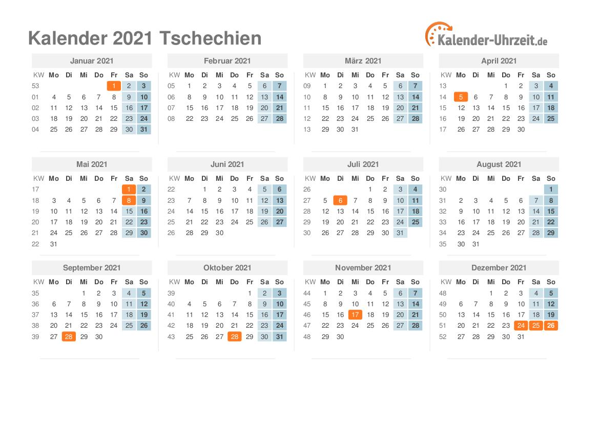 Tschechien 2021