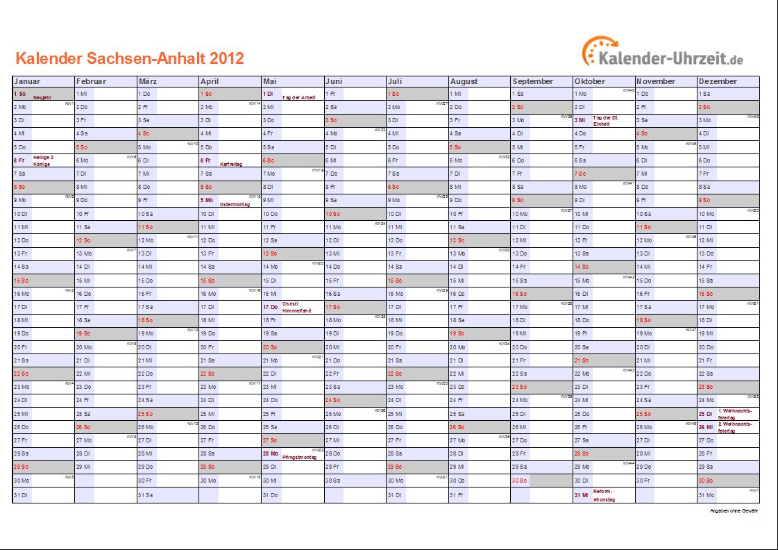 Feiertage 2012 Nrw