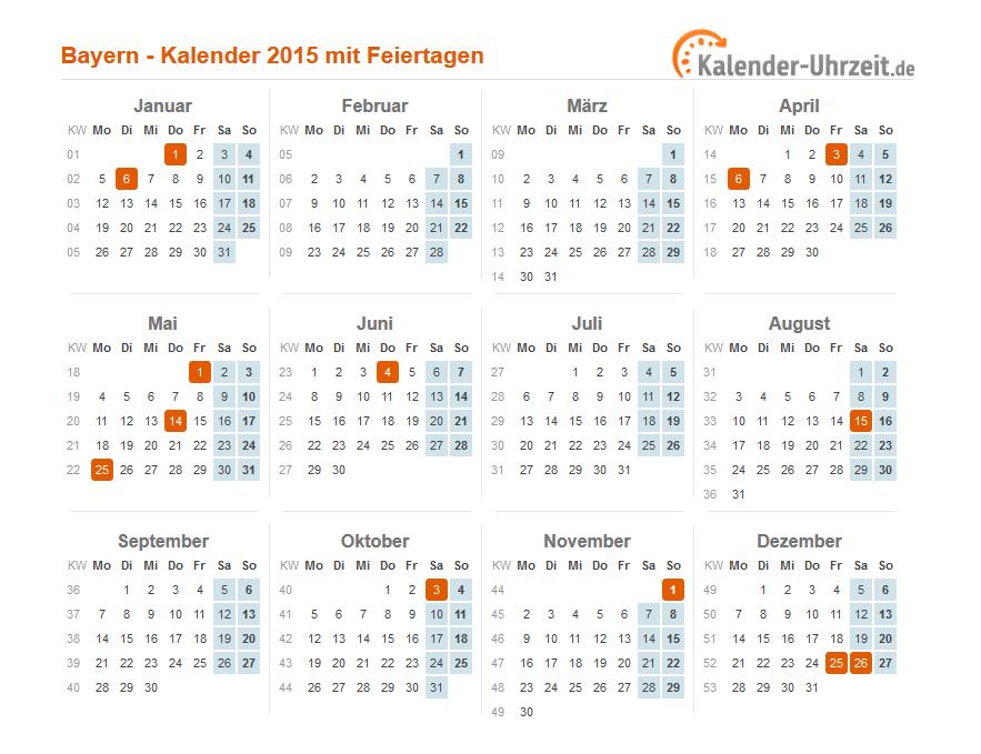 883 x 679 · 56 kB · png, Feiertage 2015 Bayern - Übersicht