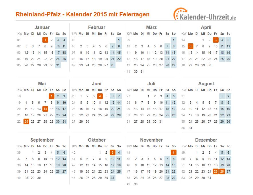 Rheinland Pfalz Feiertag
