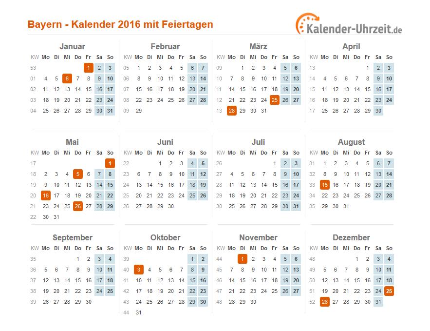 Feiertag Bayern Heute