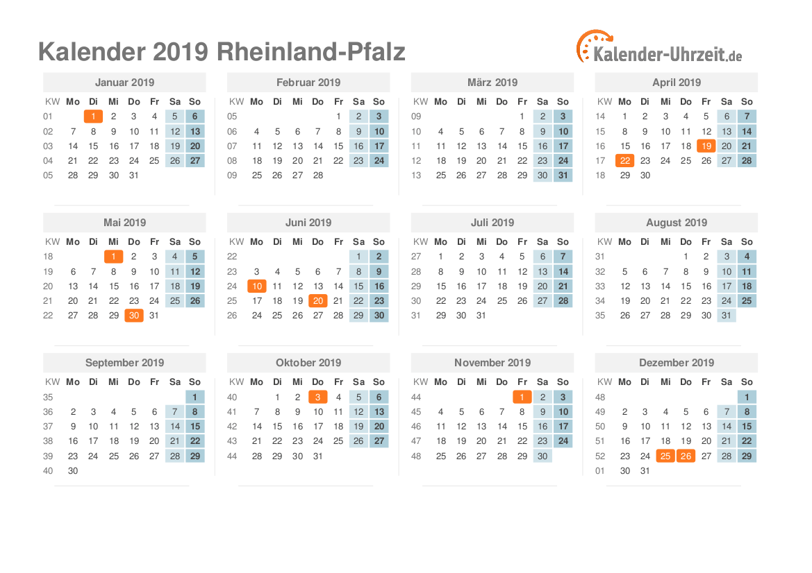 Feiertage Rheinland