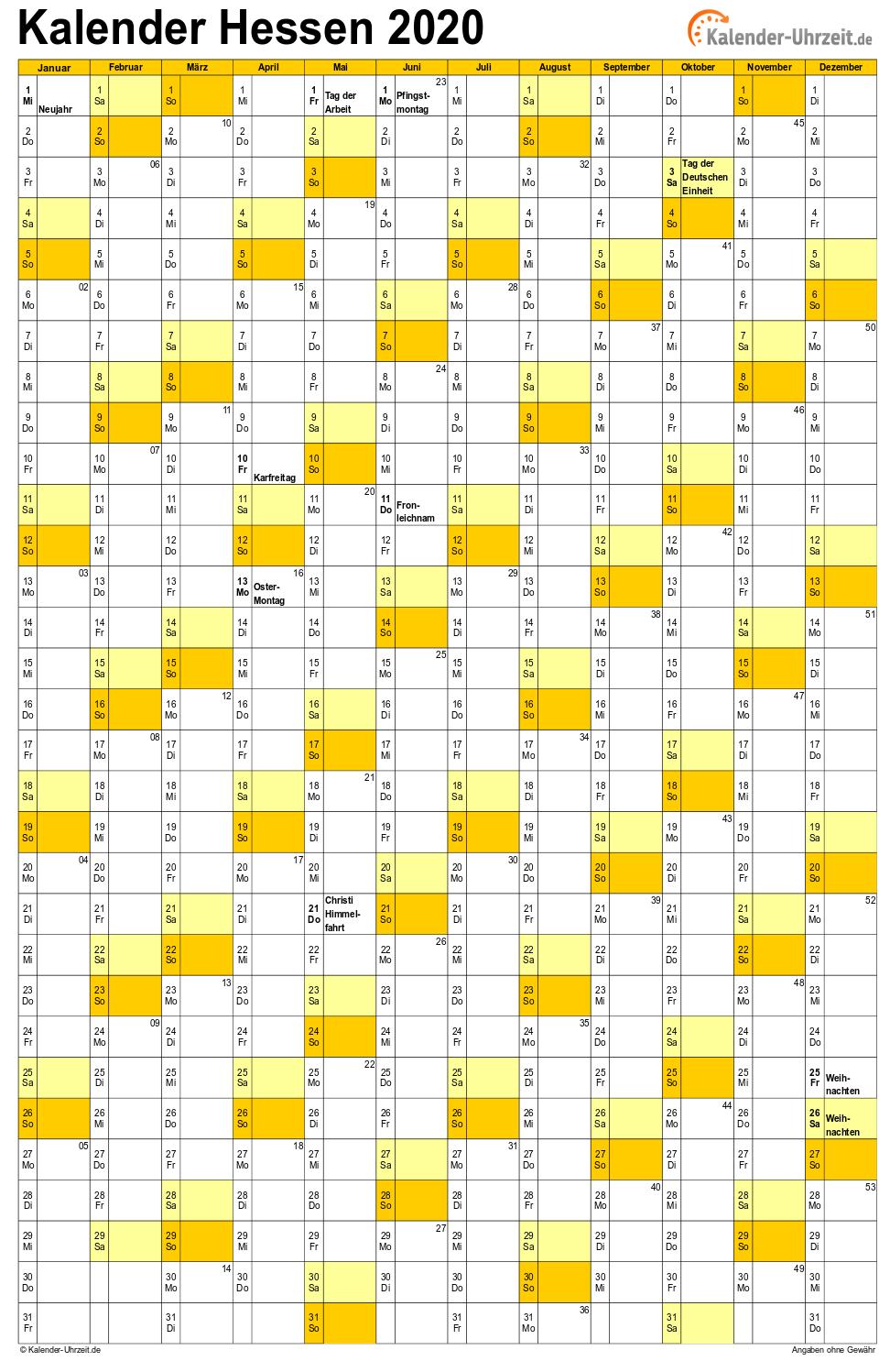 Schulferien In Hessen 2020 Ferientermine 2019 11 23