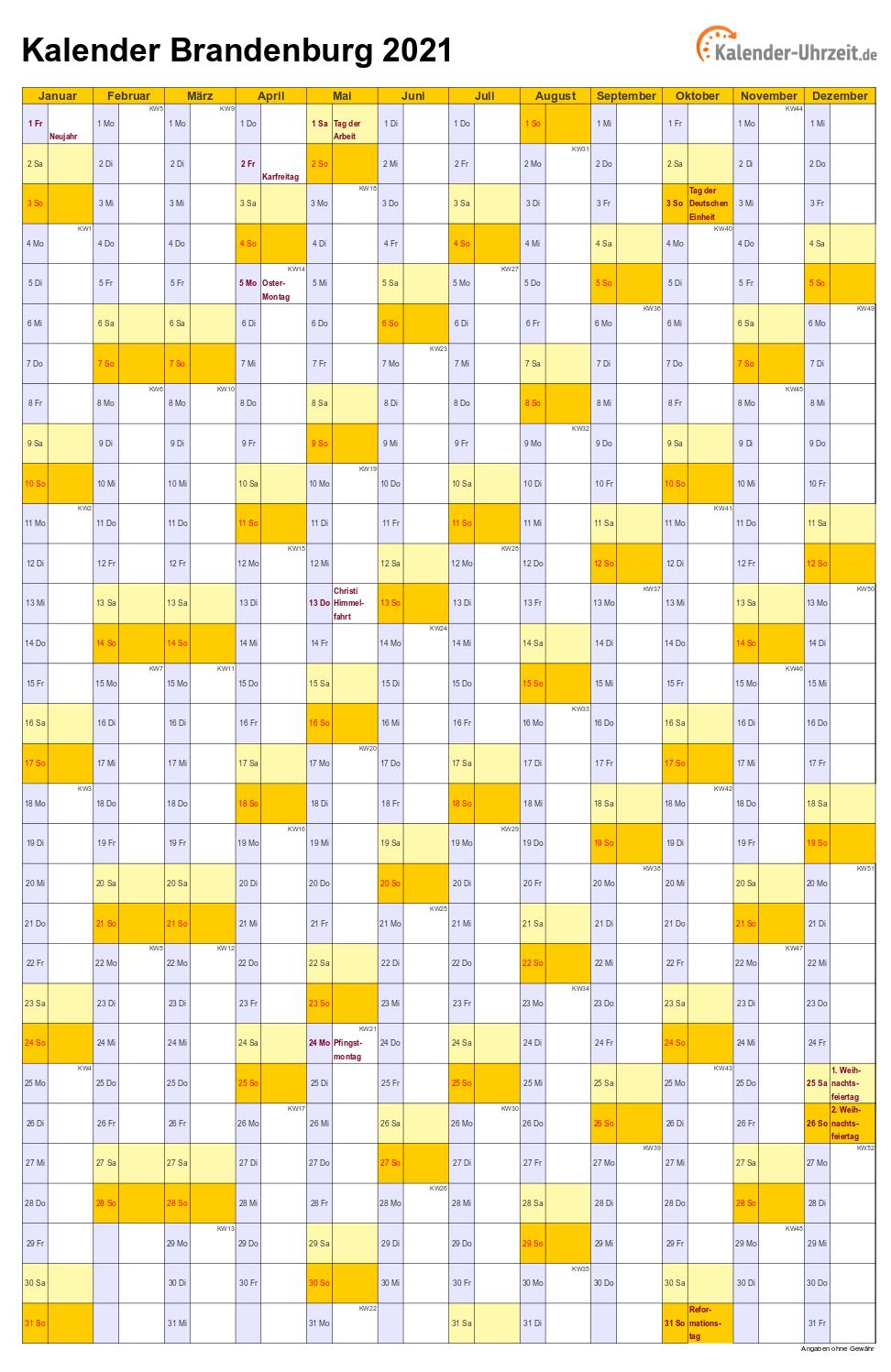 Karfreitag 2021 Kalenderwoche