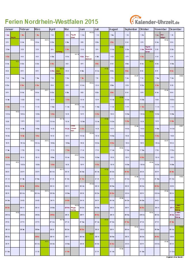 Kalender 2016 Nrw Png | Search Results | Calendar 2015