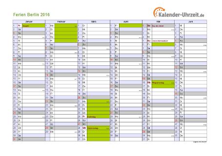 Kalender 2016 Sachsen Ferien Feiertage Excel Www Kalenderpedia De ...