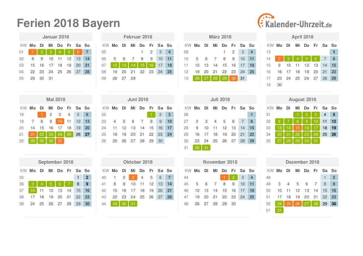 Bayer Feiertage
