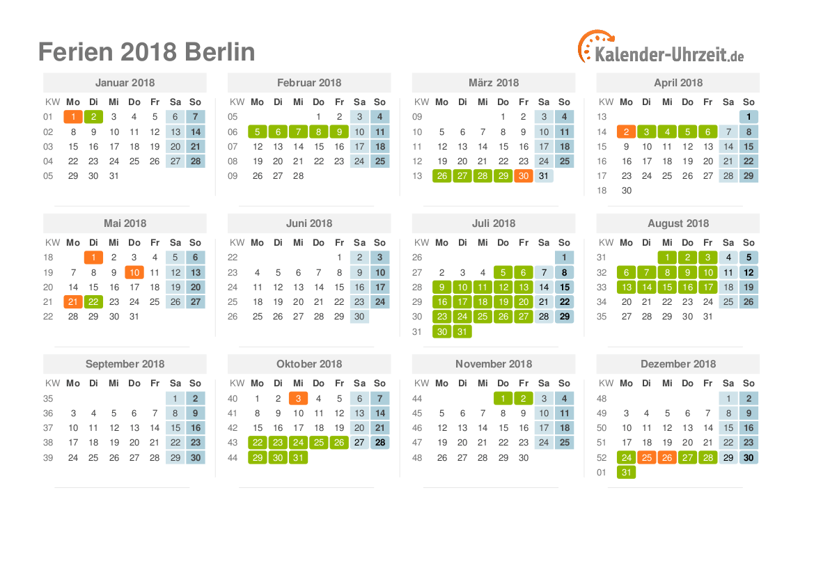ferien winter 2019 berlin