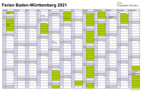 Herbstferien 2021 Bw
