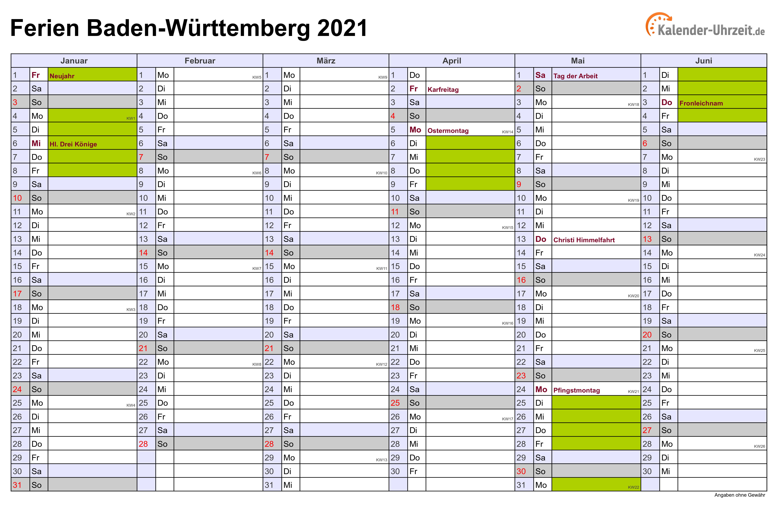 Baden Württemberg Winterferien 2021