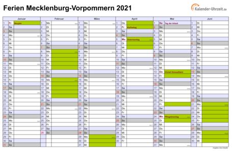 Kalender 2021 Niedersachsen Din A4 Zum Ausdrucken ...