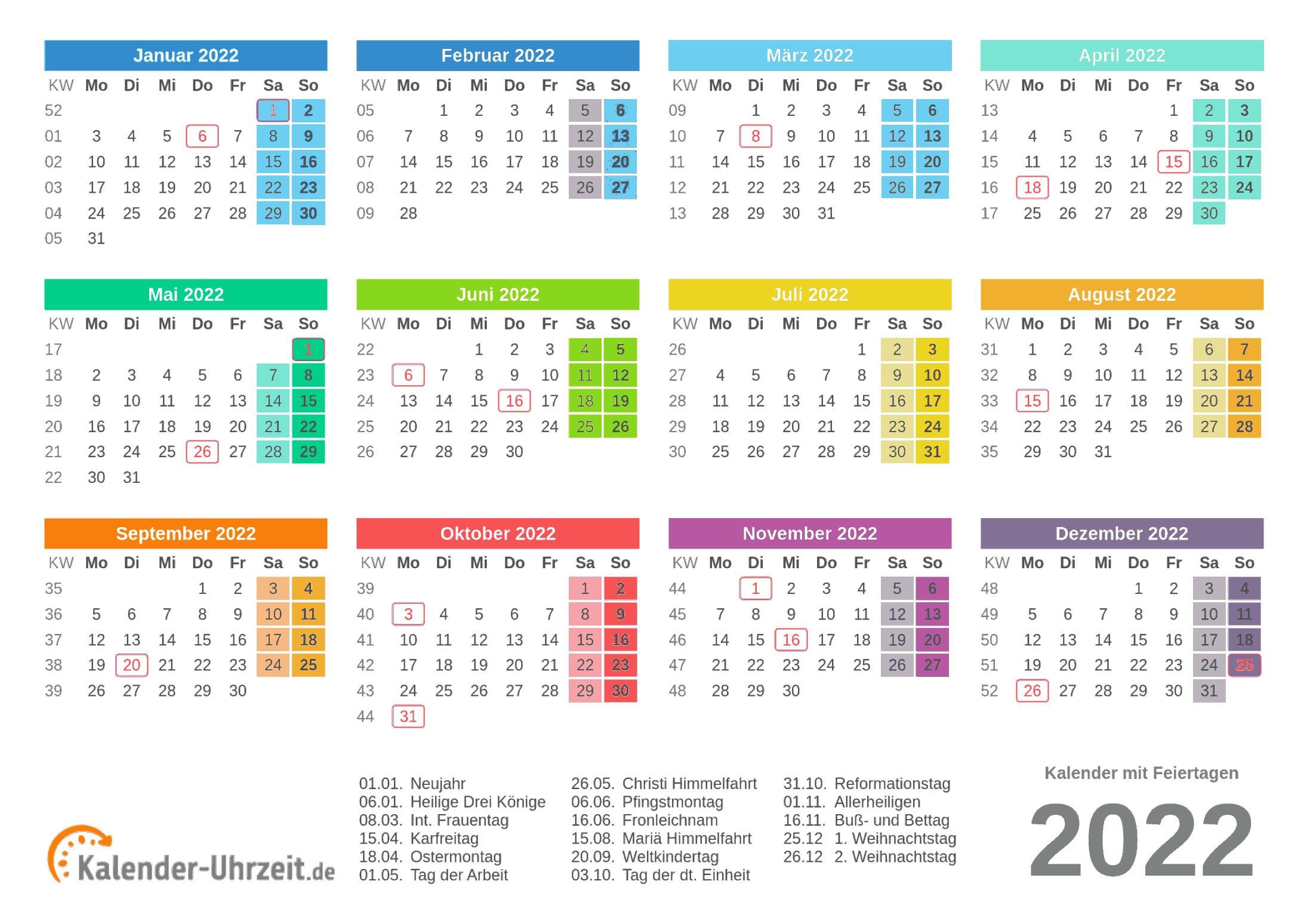 Kalender 2021 Und 2022 Bayern : Kalender 2021 Bayern ...