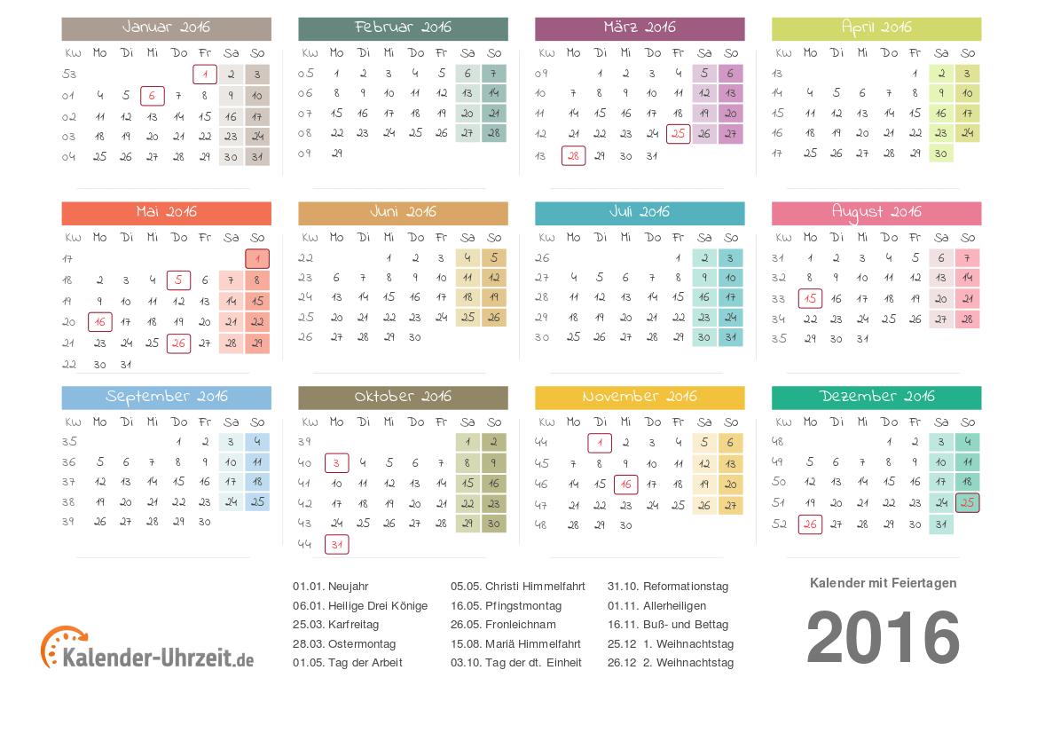 kalenderblatt 2016 zum ausdrucken calendar template 2016. Black Bedroom Furniture Sets. Home Design Ideas