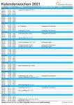 47. Kalenderwoche 2021