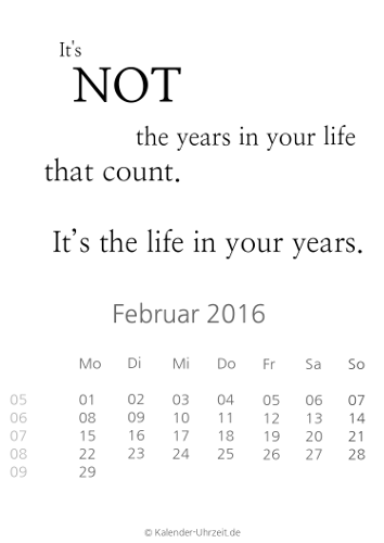 kalender 2016 zum ausdrucken kostenlos. Black Bedroom Furniture Sets. Home Design Ideas