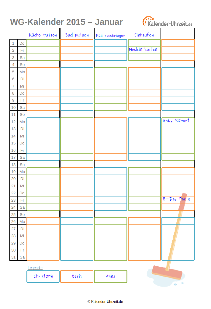 kalender 2018 zum selbstgestalten und ausdrucken autos post. Black Bedroom Furniture Sets. Home Design Ideas