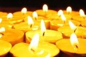 Ein zentrales Element an Allerheiligen ist die Kerze