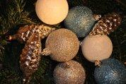 Weihnachtsschmuck – alles glitzert und glänzt