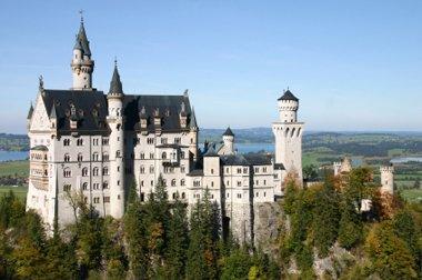 Bayern Schloss Neuschwanstein