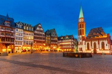 Hessen Stadtzentrum Frankfurt