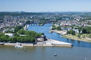 Rheinland-Pfalz Koblenz Deutsches Eck