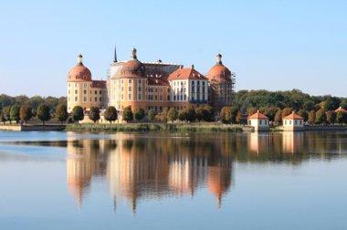Sachsen Dresden Schloss Moritzburg