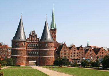 Schleswig-Holstein Lübeck Holstentor