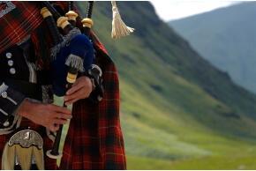 Schottland Dudelsack