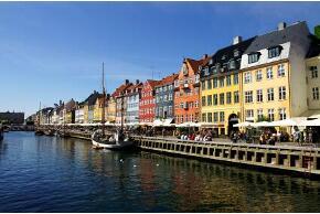 Kopenhagen in Dänemark