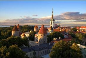 Tallin in Estland