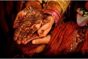 Hennamalerei aus Bangladesch