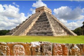 Maya Tempel in Mexiko