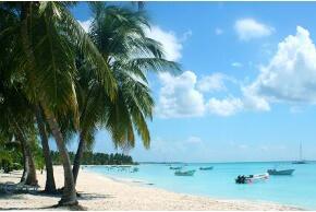 Strand in der Dominikanischen Rebublik