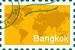 Briefmarke der Stadt Bangkok