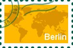 Briefmarke der Stadt Berlin