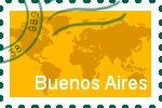 Briefmarke der Stadt Buenos Aires