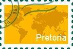 Briefmarke der Stadt Pretoria